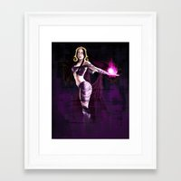 magic the gathering Framed Art Prints featuring Liliana Vess Magic The Gathering by Anaelisch