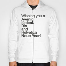 Happy Helvetica Neue Year 2014 Hoody