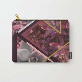 Wine Succulents #society6 #decor #buyart Carry-All Pouch