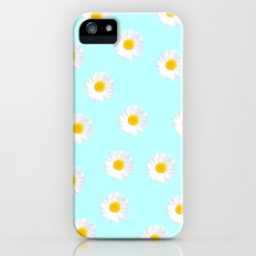 Daisy Blue Slim Case iPhone (5, 5s)