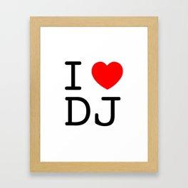 I Heart Jeter Framed Art Print