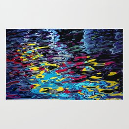 reflection colors Rug