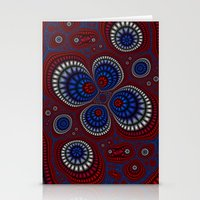paisley Stationery Cards featuring Paisley by Christy Leigh