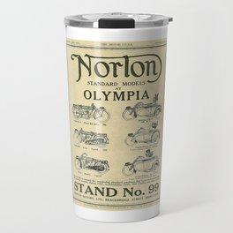 Vintage Norton Standard Advert Travel Mug