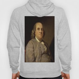 portrait of Benjamin Franklin by Joseph Duplessis Hoody