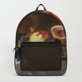Pensionante del Saraceni - Still Life with Fruit and Carafe Backpack