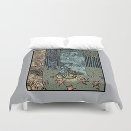 Keeper of the Grove Duvet Cover