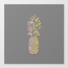 Pineapple Twin Canvas Print