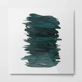 Abstract Minimalism #3 #minimal #ink #decor #art #society6 Metal Print