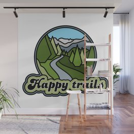 Happy trails Wall Mural