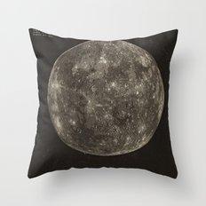 Mercury Throw Pillow