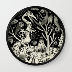 Out of the Thicket Wall Clock