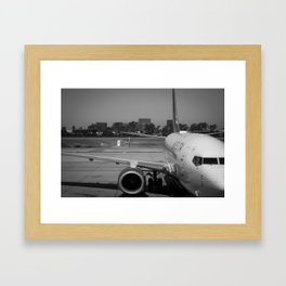Pre Take-Off Framed Art Print