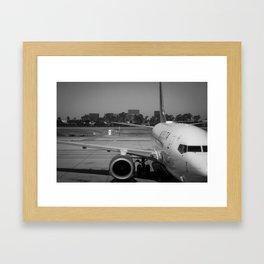 Pre Take-Off Framed Art Print