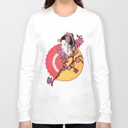 Geisha Girl Long Sleeve T-shirt