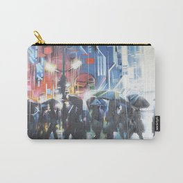 Rainy day in the city Carry-All Pouch