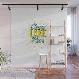 Sunny Cave Run Lake Wall Mural