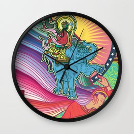 Life of Buddha - 1. Announcement of the imminent birth Wall Clock