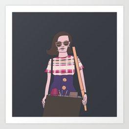 Peggy Olson Art Print