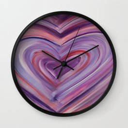 Heart Love Portal  Wall Clock
