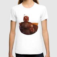 boba fett T-shirts featuring Boba Fett by Marilo Delgado