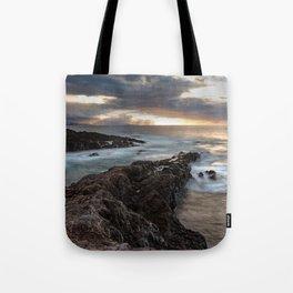 Long Exposure Sunset in El Sauzal Tote Bag