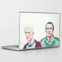 in the flesh Laptop & iPad Skins featuring Flesh by Crisis