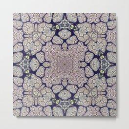 Duckweed Kaleidoscope | Micro Series 01 Metal Print