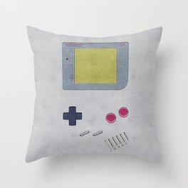 Vintage GameBoy 1989 Throw Pillow
