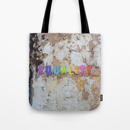 Equality Paint Tote Bag