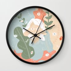 Your Eyes Are Following Me Wall Clock