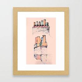 Chim Chim-in-ey Framed Art Print
