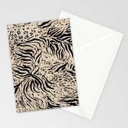 Repeating Abstract Animal Skin Stationery Cards