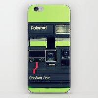 polaroid iPhone & iPod Skins featuring Polaroid by Brieana