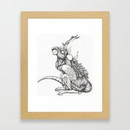The Rat God Framed Art Print