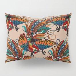 rooster ink beige Pillow Sham