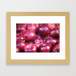 An apple a day Framed Art Print