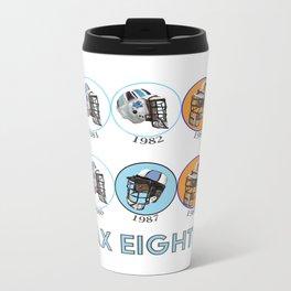 Lax Eighties Metal Travel Mug