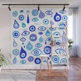 Evil Eyes Wall Mural