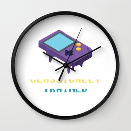 Classically Trained - Game Boy Gamer Wall Clock