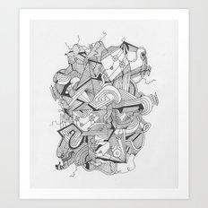 Art of Geometry 3 Art Print