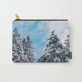 Snowy Carry-All Pouch