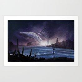 Seers Isle: Sea Spirits Art Print