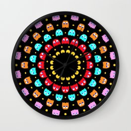 Video Game Spiral Wall Clock