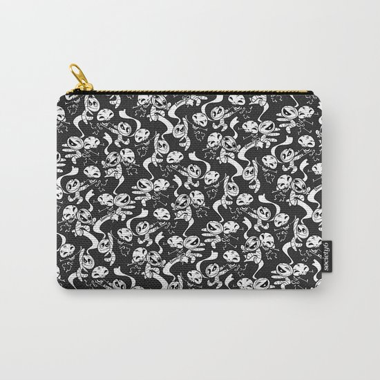 Mummy & Skeleton Carry-All Pouch