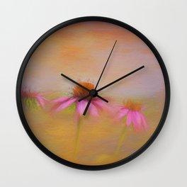 Beginning Bloom Wall Clock