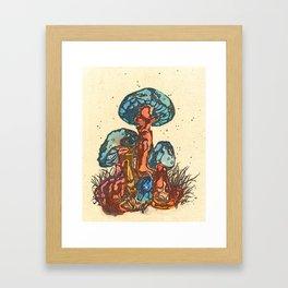 Mushrooms 1 Framed Art Print