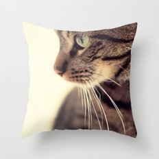 Kitty Love 2 Throw Pillow