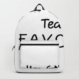 I'm 6th Grade Teacher Favorite 6th Grade Teacher Backpack