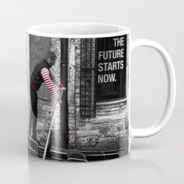 The Future Starts Now Coffee Mug